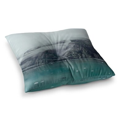 Into the Mist by Ann Barnes Floor Pillow Size: 26 x 26