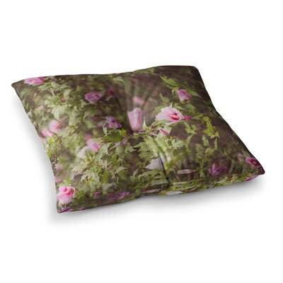 Lush by Ann Barnes Floor Pillow Size: 26 x 26