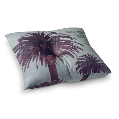 California Dreams by Ann Barnes Floor Pillow Size: 23 x 23