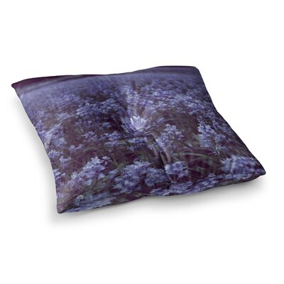 Bell Forest Flowers by Ann Barnes Floor Pillow Size: 26 x 26
