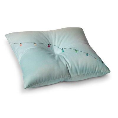 Dream a Little Dream Vintage by Ann Barnes Floor Pillow Size: 23 x 23