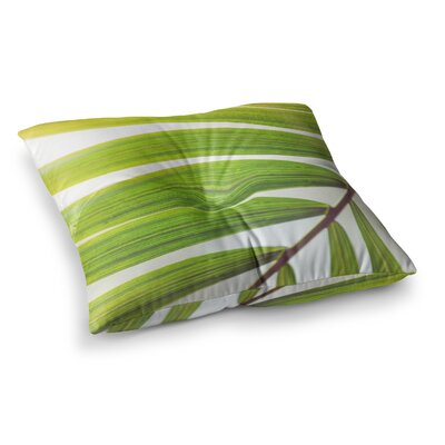 Jungle Abstract by Ann Barnes Floor Pillow Size: 23 x 23
