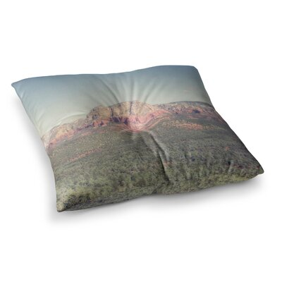 Sedona Skies Photography by Ann Barnes Floor Pillow Size: 26 x 26