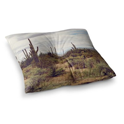 Arizona Skies Photography by Ann Barnes Floor Pillow Size: 26 x 26