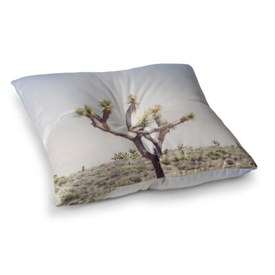 Joshua Tree Photography by Ann Barnes Floor Pillow Size: 23 x 23