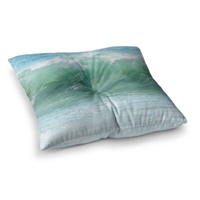 Crash Photography by Ann Barnes Floor Pillow Size: 23 x 23