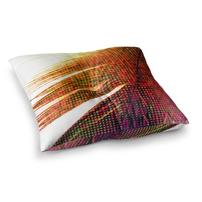 Feather Pop by Alison Coxon Floor Pillow Size: 26 x 26