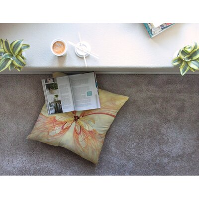 Papillon by Alison Coxon Floor Pillow Size: 26 x 26