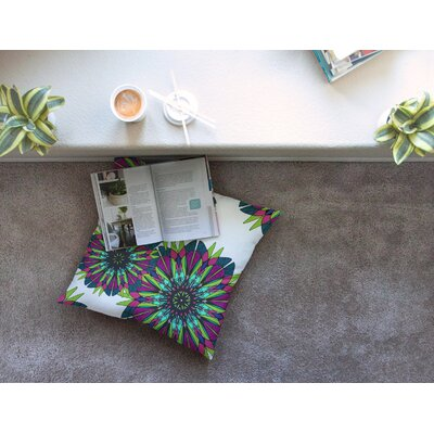Bright by Alison Coxon Floor Pillow Size: 23 x 23