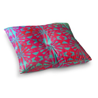 Aloha by Alison Coxon Floor Pillow Size: 26 x 26