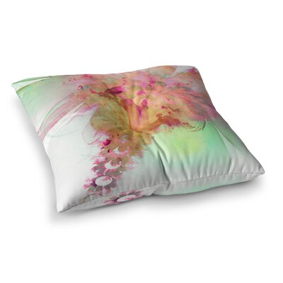 Lily by Alison Coxon Floor Pillow Size: 26 x 26