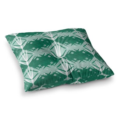 Diamond by Alison Coxon Floor Pillow Size: 23 x 23