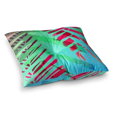 Cool Tropical by Alison Coxon Floor Pillow Size: 26 x 26