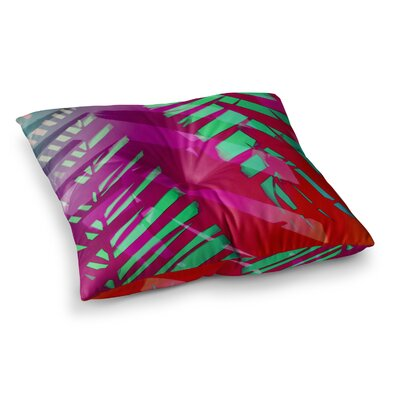 Hot Tropical by Alison Coxon Floor Pillow Size: 23 x 23