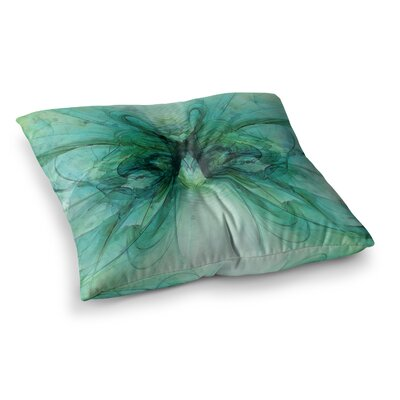Butterfly by Alison Coxon Floor Pillow Size: 26 x 26