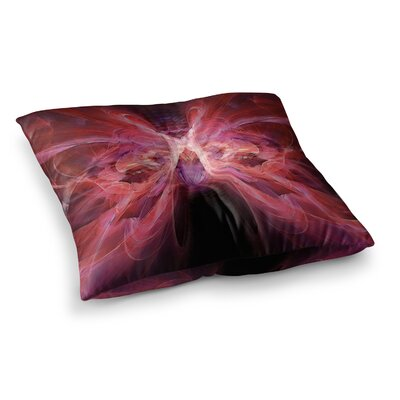 Butterfly by Alison Coxon Floor Pillow Size: 23 x 23