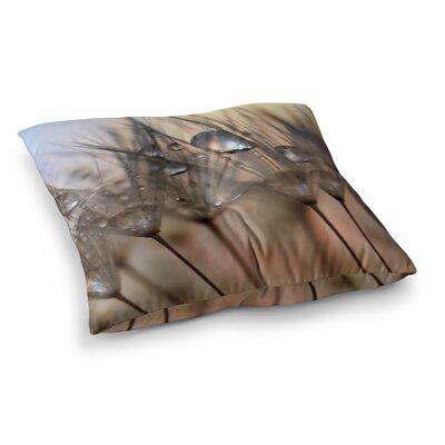 Trinkets Flower by Alison Coxon Floor Pillow Size: 23 x 23