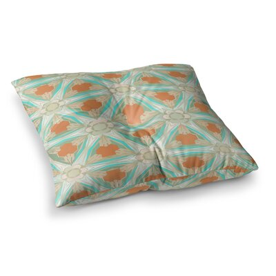 Moorish by Alison Coxon Floor Pillow Size: 23 x 23