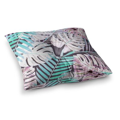Midnight Jungle by Alison Coxon Floor Pillow Size: 26 x 26