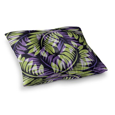 Dark Fern by Alison Coxon Floor Pillow Size: 23 x 23