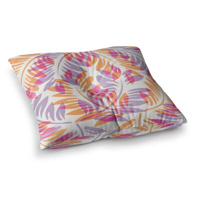 Summer Fern by Alison Coxon Floor Pillow Size: 23 x 23