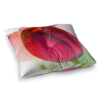Tulips by Alison Coxon Floor Pillow Size: 23 x 23