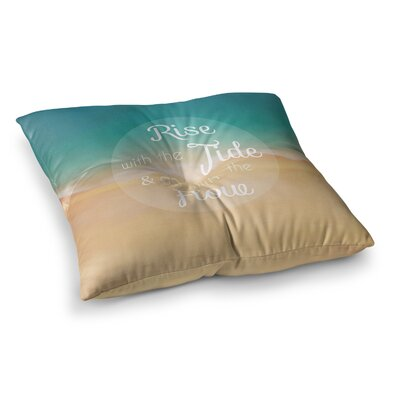 Rise with the Tide by Alison Coxon Floor Pillow Size: 23 x 23
