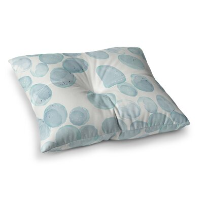 Pebbles by Alison Coxon Floor Pillow Size: 23 x 23