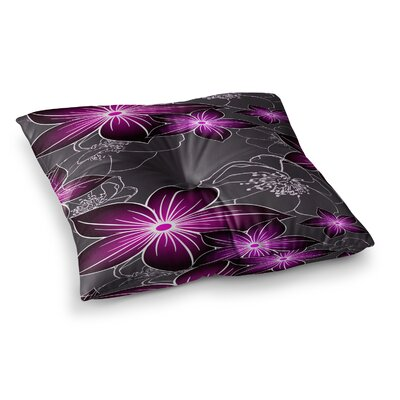 Amthyst by Alison Coxon Floor Pillow Size: 26 x 26
