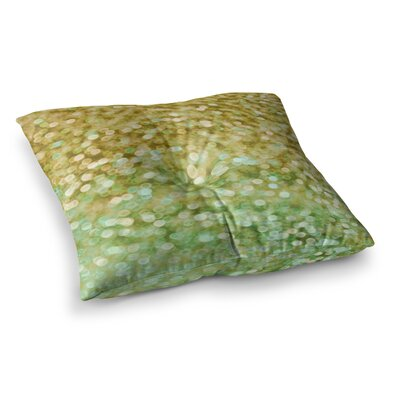 Sparkle Bokeh by Alison Coxon Floor Pillow Size: 26 x 26