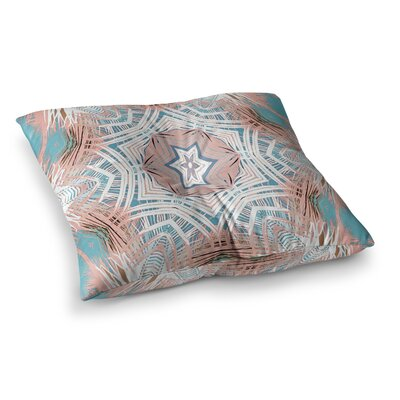 Tribe by Alison Coxon Floor Pillow Size: 23 x 23