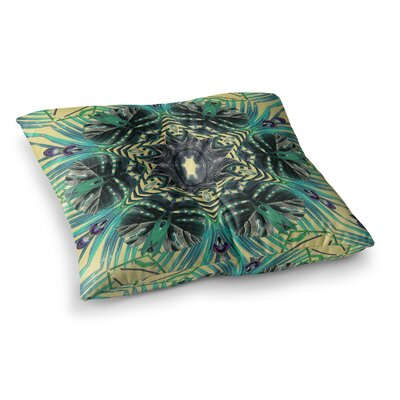 Paradise by Alison Coxon Floor Pillow Size: 23 x 23