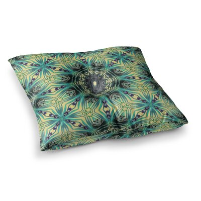 Paradise 2 Digital by Alison Coxon Floor Pillow Size: 23 x 23