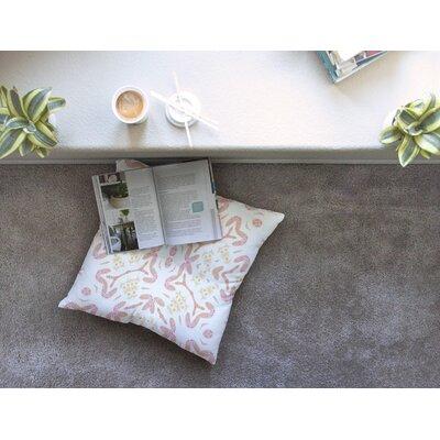 Aztec Feather by Alison Coxon Floor Pillow Size: 23 x 23