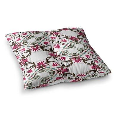 Tokyo Garden Digital by Alison Coxon Floor Pillow Size: 23 x 23