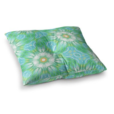 Fresh Daisy Digital by Alison Coxon Floor Pillow Size: 26 x 26