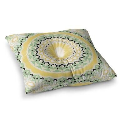 Mellow Digital by Alison Coxon Floor Pillow Size: 23 x 23