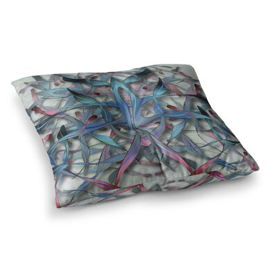 Wax and Wayne Digital by Angelo Cerantola Floor Pillow Size: 23 x 23