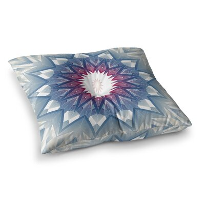 Starburst Digital by Angelo Cerantola Floor Pillow Size: 23 x 23