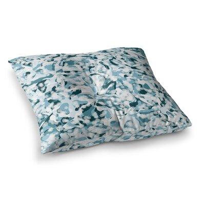 Waterflowers Digital by Angelo Cerantola Floor Pillow Size: 26 x 26