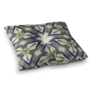Lymph Geometric Modern by Angelo Cerantola Floor Pillow Size: 23 x 23