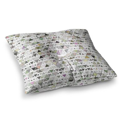 Triangulation Geometric by Angelo Cerantola Floor Pillow Size: 26