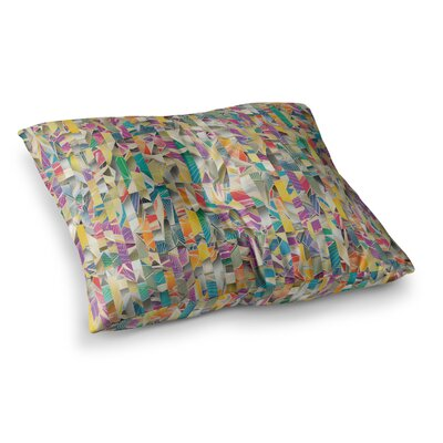 Feel it Pattern by Angelo Cerantola Floor Pillow Size: 26