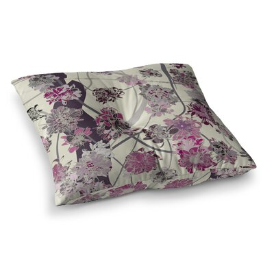 Springtime Again Floral by Angelo Cerantola Floor Pillow Size: 23 x 23