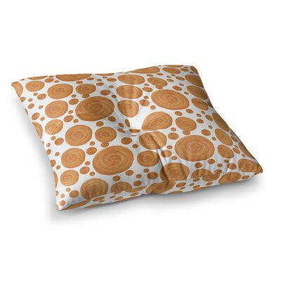 Geometric by Alisa Drukman Floor Pillow Size: 23 x 23