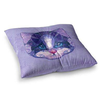 Cute Kitten by Ancello Floor Pillow Size: 23 x 23