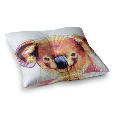 Cute Koala by Ancello Floor Pillow Size: 26 x 26