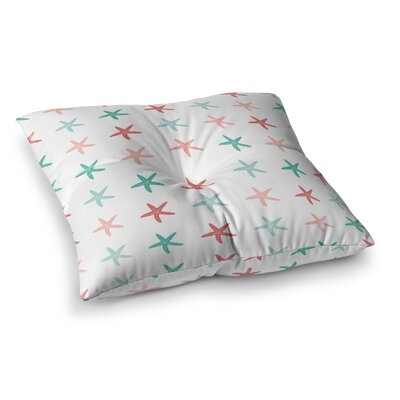 Starfish Pattern II Illustration by Afe Images Floor Pillow Size: 26 x 26