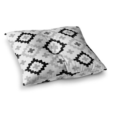 Moroccan Geometric by Pellerina Design Floor Pillow Size: 23 x 23
