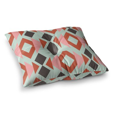 Triangle Weave by Pellerina Design Floor Pillow Size: 26 x 26